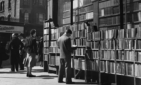 Secondhand bookshop on Charing Cross Road