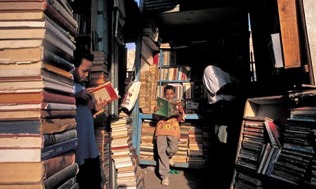 Old books market in Cairo