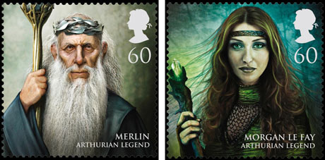 Magical Realms stamps