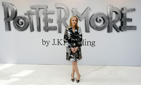 JK Rowling announces Pottermore.