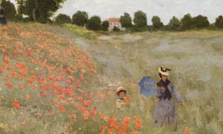 Monet Poppy Field