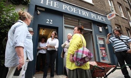 Poetry Society with BookApartmentsinLondon.co.uk