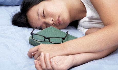 Sleeping reader