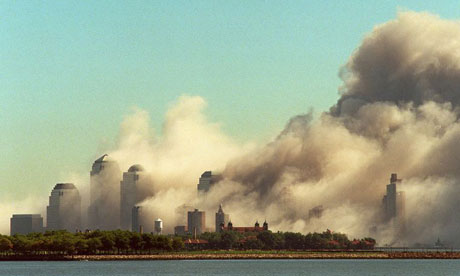Manhattan in the wake of the 9/11 attacks. Photograph: Reuters