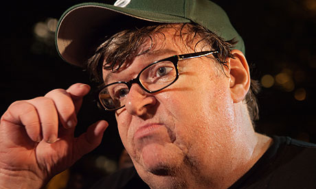 Michael Moore: 'I don't want a dime off of that state'. Photograph: Julie Dermansky/Corbis