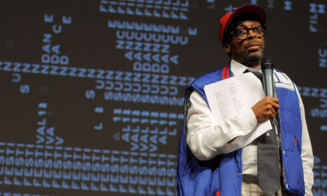 Spike Lee at the Red Hook Summer Sundance festival premiere