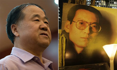 Mo Yan and Liu Xiaobo