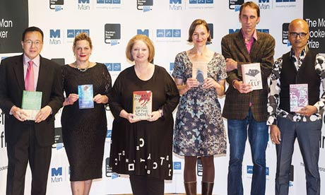 The 2012 Man Booker prize shortlistees.