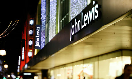 night time marquis of Michael Lewis department store