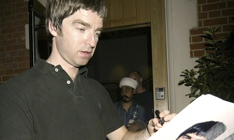 Noel Gallagher may not read it, but he writes fiction