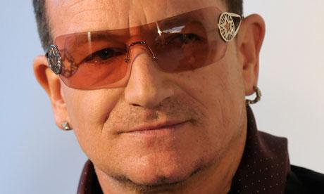 Bono embraces  inner nerd  in  U2 Bono 2013