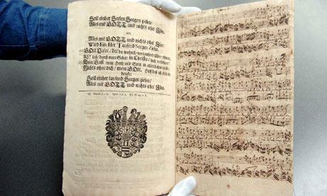 Bach score