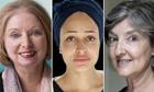 Hilary Mantel, Zadie Smith and Barbara Kingsolver