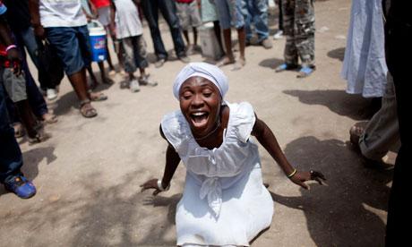 Voodoo festival in Haiti