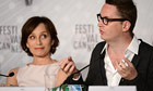 Kristin Scott Thomas and Nicolas Winding Refn