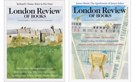 LRB covers