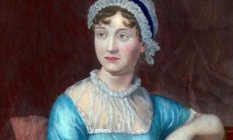 Jane Austen. Image from http://www.theguardian.com/books/booksblog/2013/aug/02/jane-austen-ring-fiction-novels