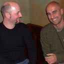 Toby Litt and Hari Kunzru