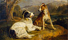 Sir Edwin Landseer's pianting The Twa Dogs