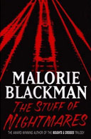 Book cover for The Stuff of Nightmares by Malorie Blackman
