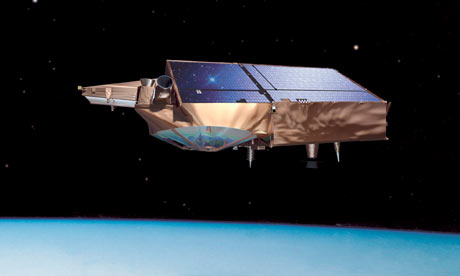 CryoSat probe, European Space Agency