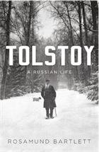 capa da obra: Tolstoy: A Russian Life by Rosamund Bartlett