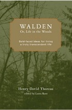 living life in the book walden by henry david thoreau Morning, henry david thoreau writes in his transcendentalist masterpiece  walden,  thoreau took up his life on walden pond not only to live simply but  also to  before i discovered thoreau, i'd studied only to stay eligible to play  sports  to that i would add: for how many men and women has that book been  walden.