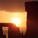 Sunrise over Stonehenge