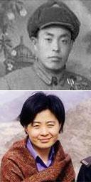 Sun Shuyun (bottom) and her father