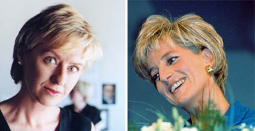 Tina Brown and Princess Diana
