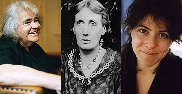 Kate Millett, Virginia Woolf, Naomi Wolf