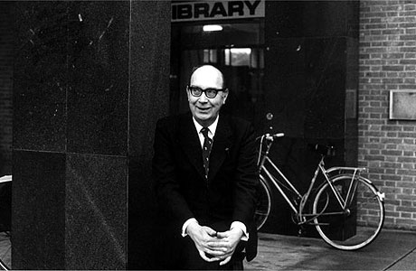 Philip Larkin. © The Guardian