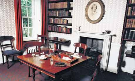 Writers' rooms: Charlotte Bronte