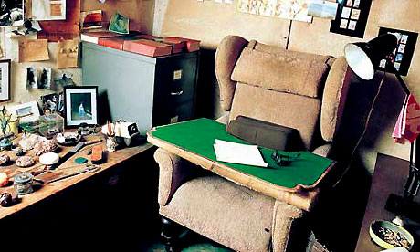 Roald Dahl's writing room