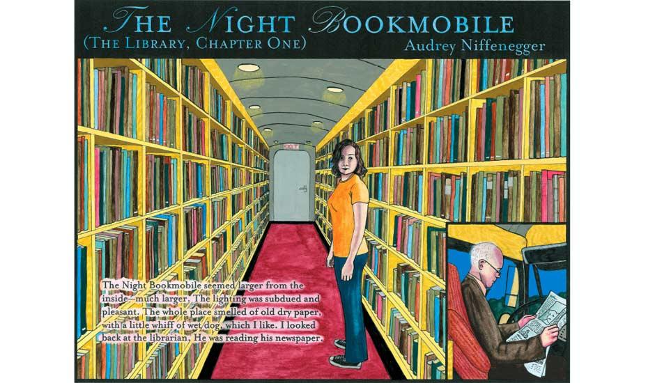 Night Bookmobile 14.06.2008