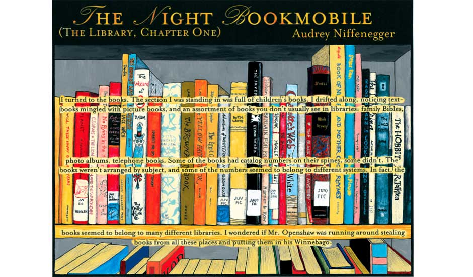 Night Bookmobile 21.06.2008