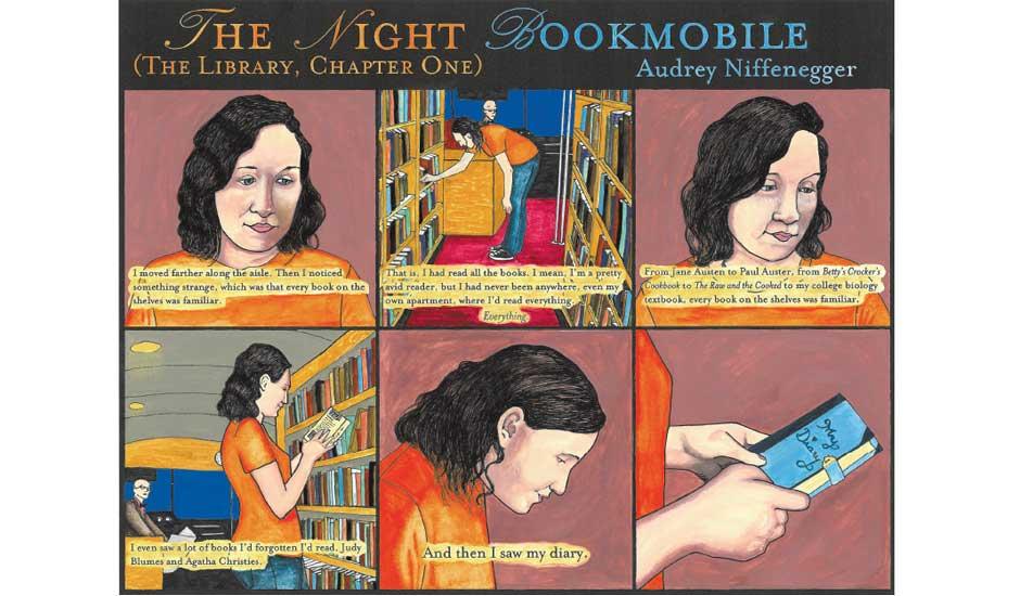 Night Bookmobile 28.06.2008