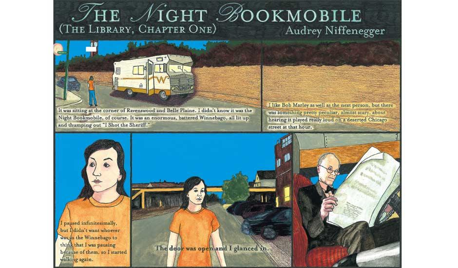 Night Bookmobile 31.05.2008