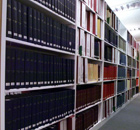 A Row Of Bookshelves