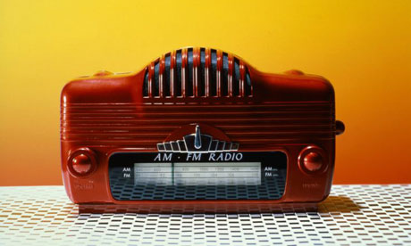 An old American radio