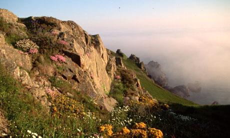 Guernsey coast
