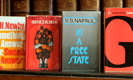 Booker Prize first editions