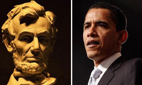 Abraham Lincoln and Barack Obama