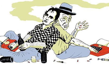 Jack Kerouac and William Burroughs