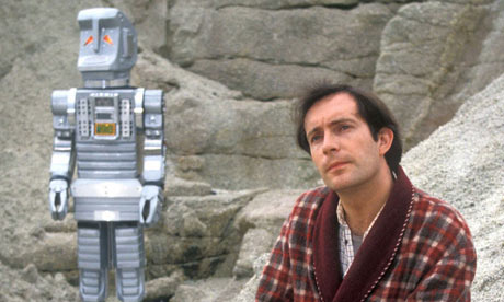 Arthur Dent and Marvin