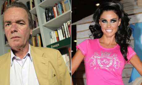 Martin Amis and Katie Price