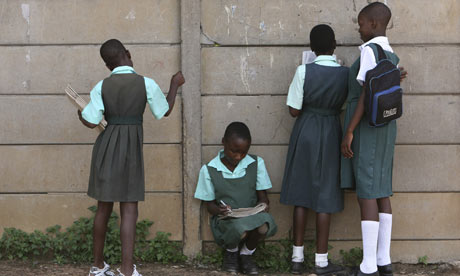 Schoolgirls in Harare, Zimbabwe