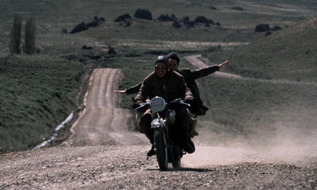 Rodrigo De la Serna and Gael Garca Bernal in the film version of The Motorcycle Diaries