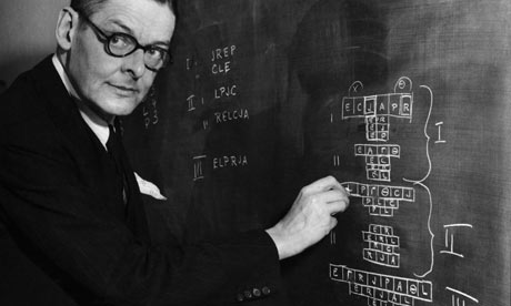 TS Eliot sets out one of his plays in the form of a diagram