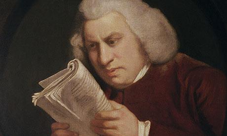 Dr. Samuel Johnson by Joshua Reynolds